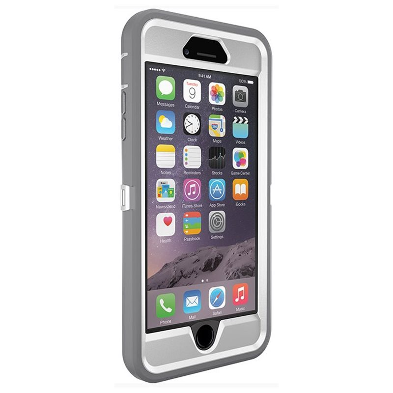 the best attitude 021b7 f24ae OTTERBOX Defender Apple iPhone 6/6s Plus Glacier - Defender / 77 ...