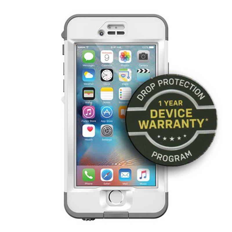 the best attitude ba7b0 3bf98 LIFEPROOF Nuud Apple iPhone 6s Avalanche + TWPP - Nuud / 77-52898 ...