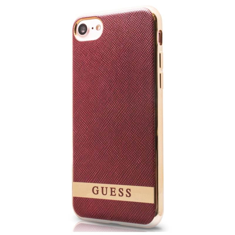 size 40 49560 6f296 GUESS COVER IPH7 GUHCP7STG - iPhone 7, DECENT rot ...