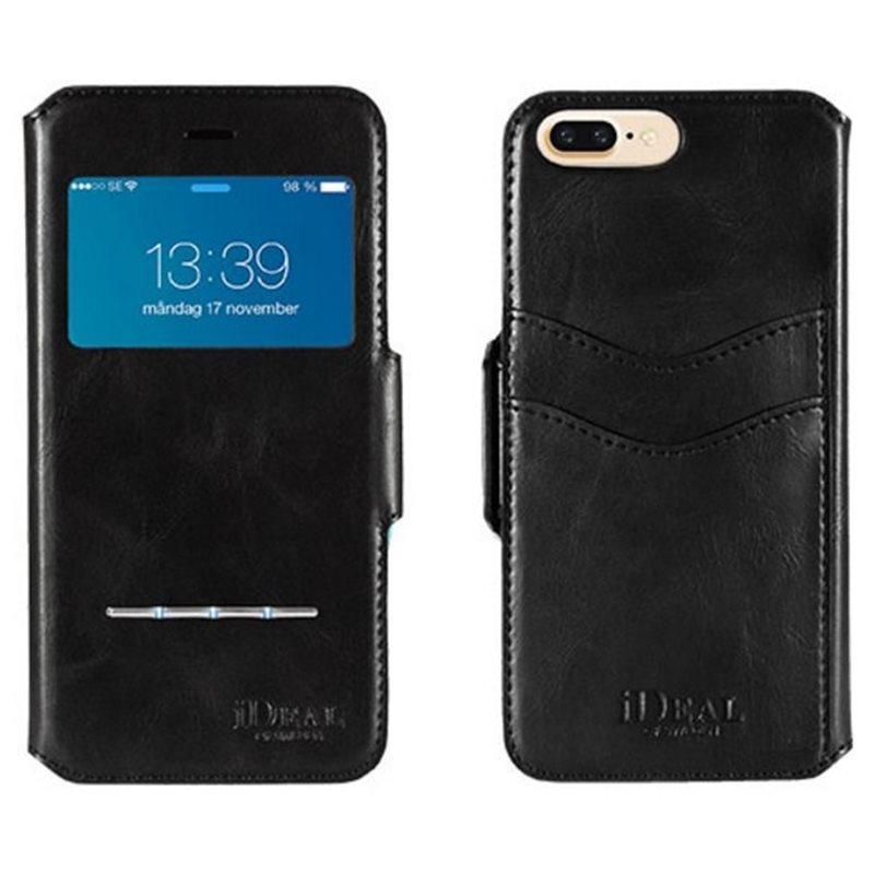 Ideal Of Sweden Swipe Wallet Schwarz Apple Iphone 7 Plus Bookcover