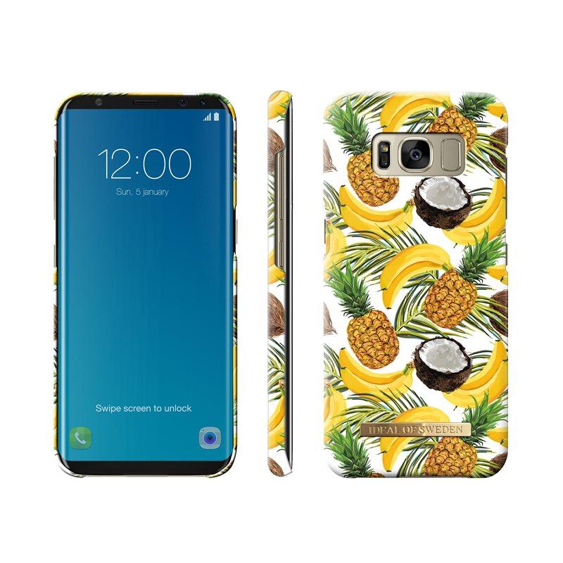 more photos d1778 73e8b IDEAL OF SWEDEN Banana Coconut Samsung Galaxy S8 - Designer-Cover ...