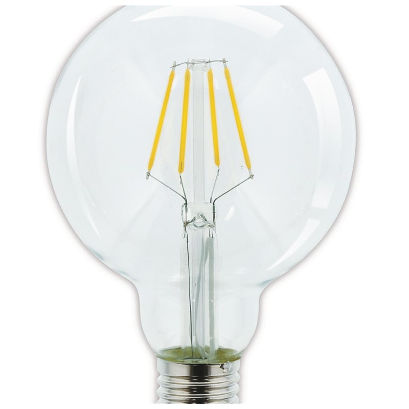 G95 Hqlfe27g95003 Vintage Lampe Led 806 2700 W Dimmable K 3 8 Lm Ok08nwP